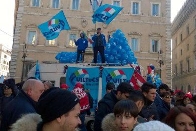 Multiservizi e turismo, in piazza a Roma per il rinnovo